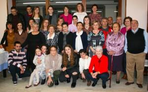 Todos los asistentes excepto Manolo que está sacando la foto :)